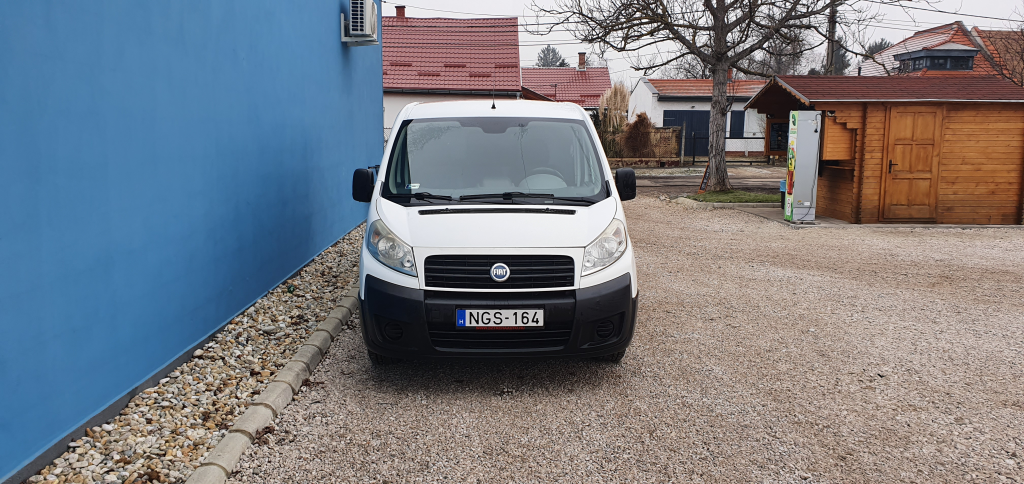 Fiat Scudo 2.0HDI Long 120Le 12000Ft+Áfa/Nap